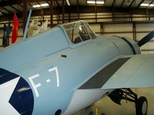 Американский палубный истребитель FM-1_(14994) Wildcat (35 фото)