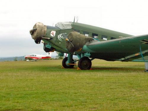 Немецкий транспортный самолет Junkers JU-52 3M (32 фото)
