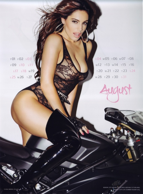 Kelly Brook - Official Calendar 2013 (13 фото) (эротика)