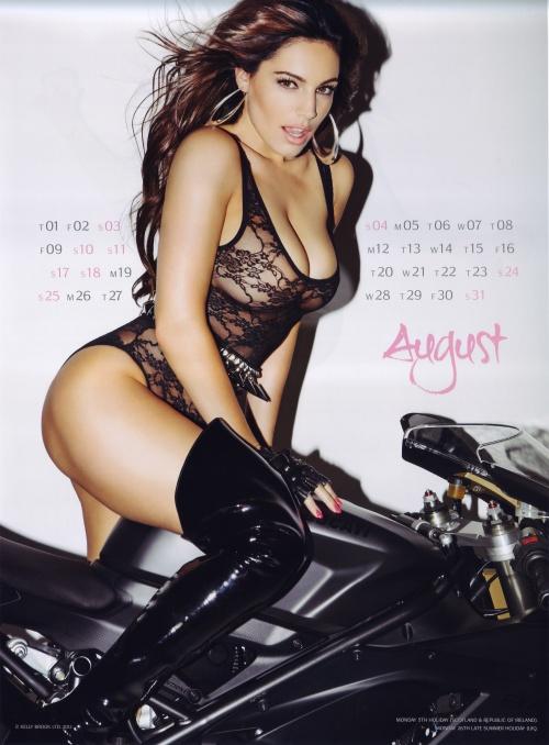 Kelly Brook - Official Calendar 2013 (13 фото) (эротика)