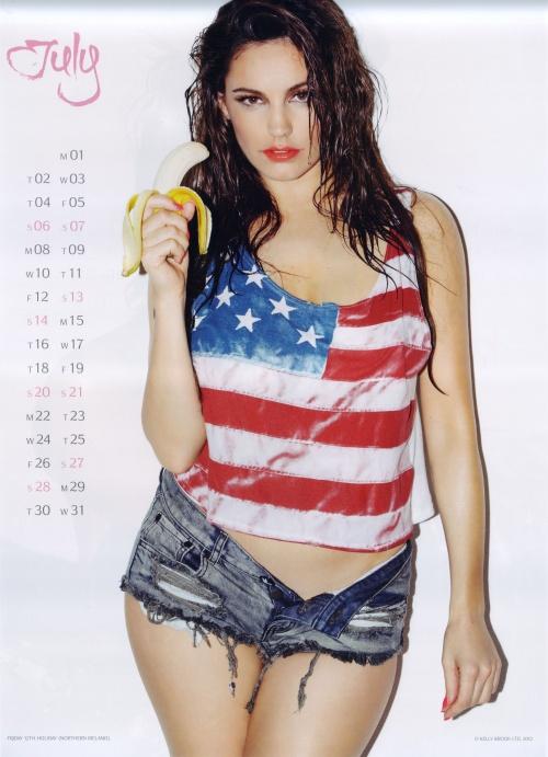 Kelly Brook - Official Calendar 2013 (13 фото)