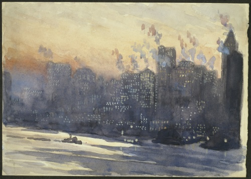 American artist Joseph Pennell (1857-1926). Часть 1 (31 работ)