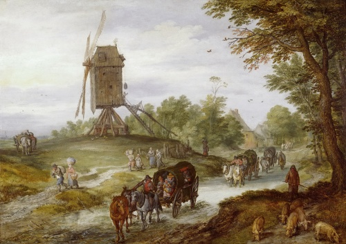 Artworks by Jan Brueghel The Elder (1568-1625) (115 работ)