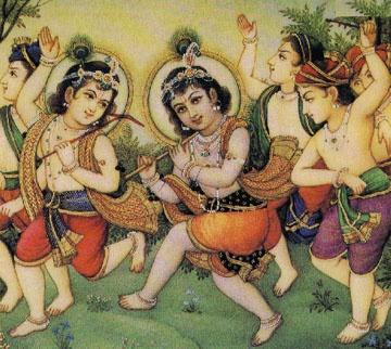 Кришна Арт - коллекция изображений с Кришной (380 работ)