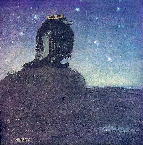 Шведский художник и иллюстратор John Bauer (193 работ)