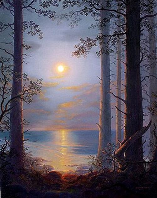 Экзотические пейзажи John Mason (37 работ)