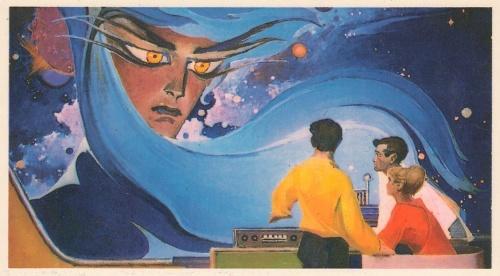 Космос А. Соколов, А. Леонов и другие. Космонавтика, фантастика (252 фото)