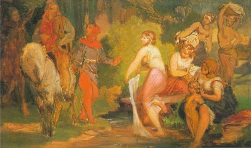 Чешская живопись. Йозеф Манес (Josef Mánes) (36 работ)