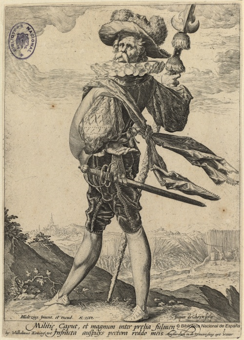 Dutch painter and engraver Jacob de Gheyn II (1565 - 1629) (18 работ)