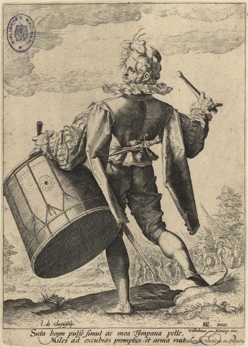 Dutch painter and engraver Jacob de Gheyn II (1565 - 1629) (18 работ)