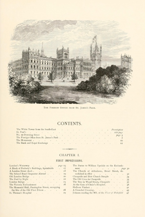 London pictures drawn with pen and pencil, with one hundred and thirty illustrations (1890) (104 работ)