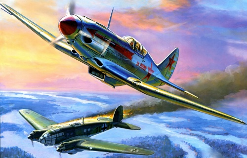 Легендарные самолёты (44 работ)