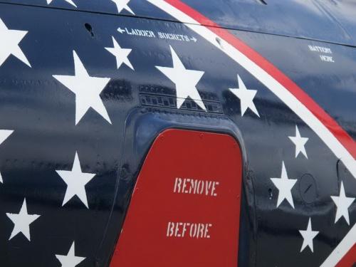 Американский палубный истребитель Grumman F9F-5P Panther (89 фото)