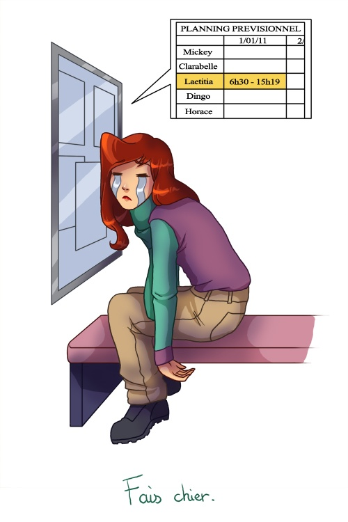 Сказочные герои французской художницы Летиция (псевдоним Holly Bell) (212 работ)