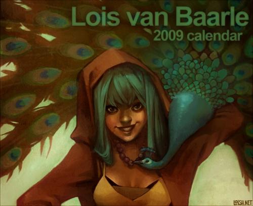 Lois van Baarle - голландская цифровая художница (работает под псевдонимом loish) (204 работ)