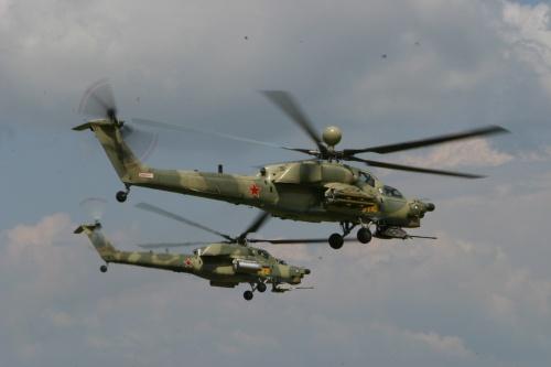 Боевой вертолет МИ-28Н (9 фото)
