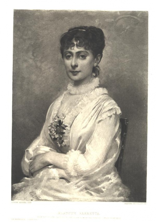Французский художник Louise Abbema (1853-1927)  (76 работ)