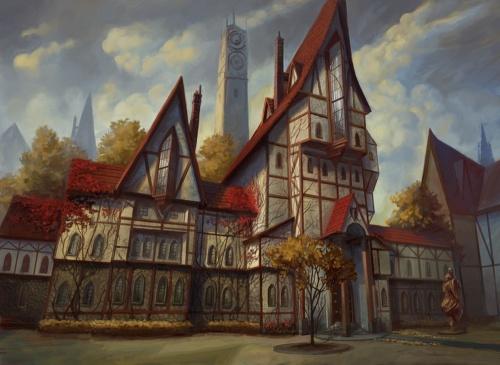Peter Mohrbacher - американский художник - иллюстратор (псевдоним One-Vox) (62 работ)