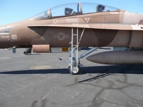 Американский палубный истребитель McDonnell-Douglas F-A-18B Hornet (106 фото)