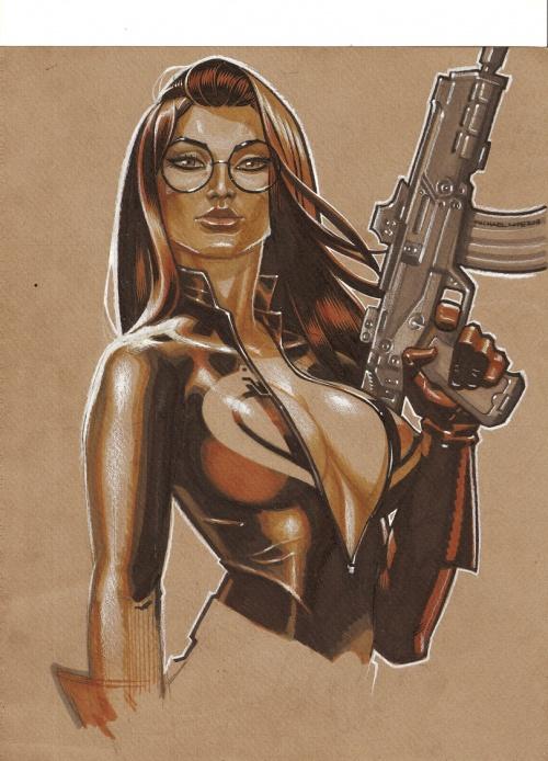 Майкл Лопес (LOPEZ MICHAEL) - американский художник комиксов (59 работ)