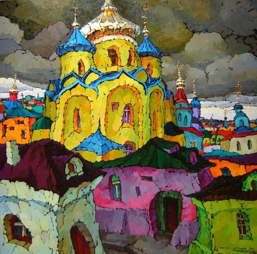 Русский Ностальгический Импрессионизм - Валерий Веселовский (118 работ)