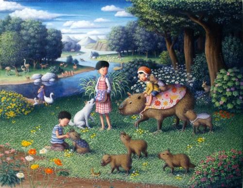 Иллюстратор из Японии Shinya Okayama (perodog) (58 работ)