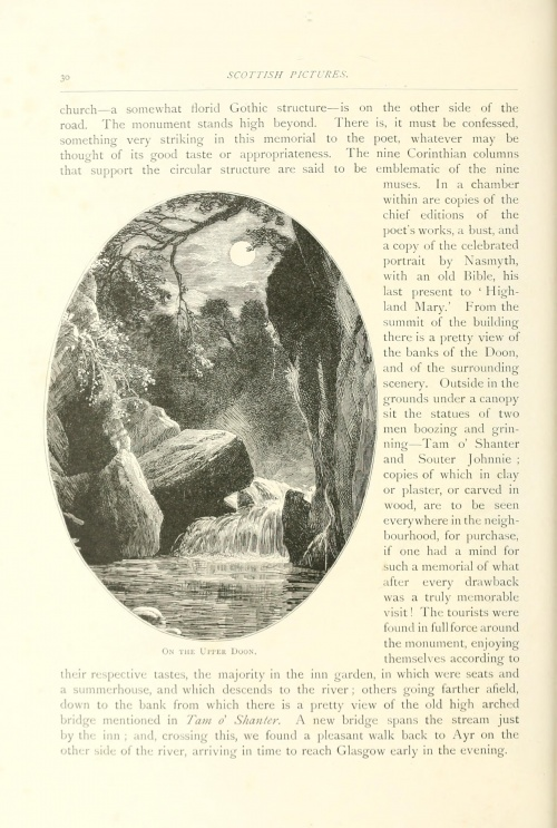 Scottish pictures, drawn with pen and pencil (1891) (166 работ)