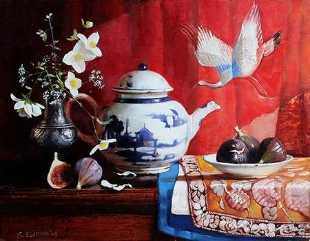 Болгарский художник Snejana Slavova (44 работ)