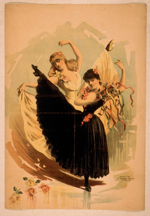 Posters by The Calvert Litho. Co., Detroit, Mich. (ca. 1890) (16 работ)