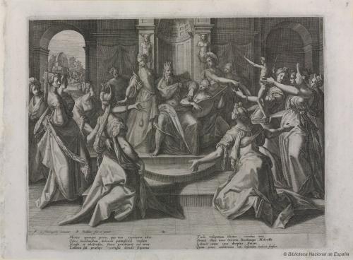 Нидерландский гравёр Raphael Sadeler (1561-1632) (79 работ) (1 часть)