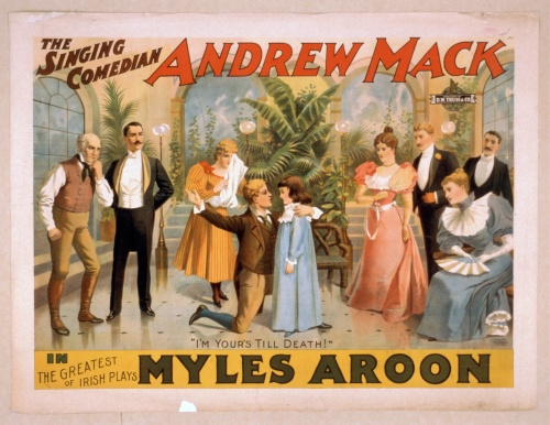 Рекламные постеры и афиши Strobridge & Co. Lith (1870-1920). Часть 3 (67 фото)