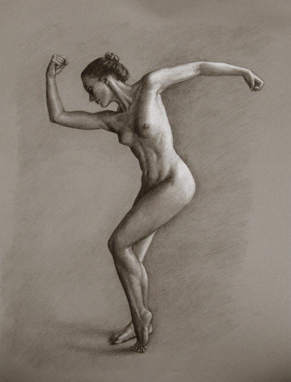 Figure drawing art models