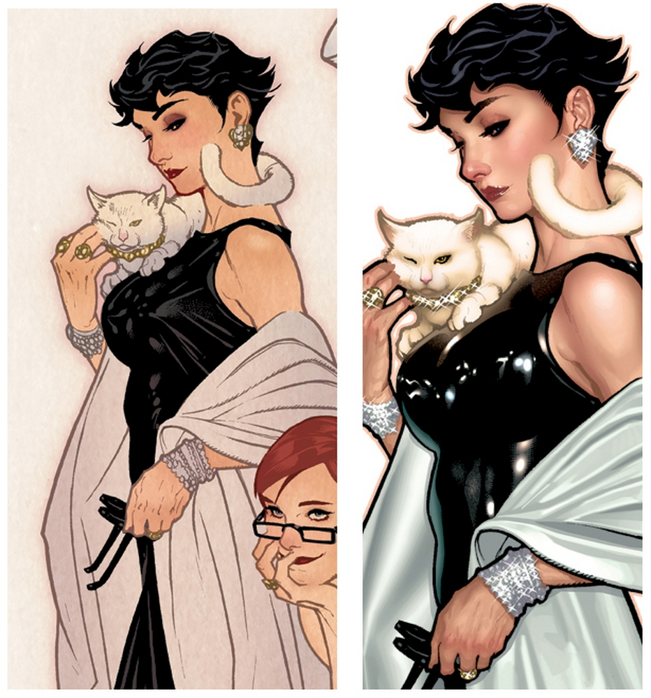 Amazoncom Cover Girls of the DC Universe Catwoman
