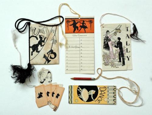 Bridge Tally | Карточки для бриджа 1920-30годов (57 работ)