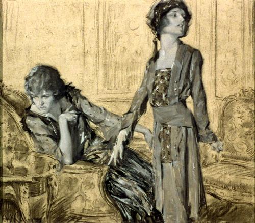 Американский иллюстратор Артур Игнатиус Келлер (Arthur Ignatius Keller(1866-1924)) (99 работ)