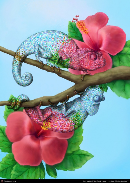 Artworks by Digital Artists # 15 (35 работ)