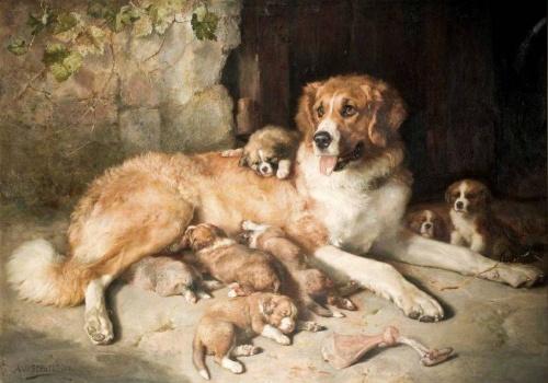 Живопись Alfred William Strutt (20 работ)