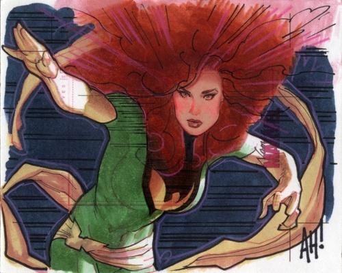 Adam Hughes - американский художник комиксов (303 работ)