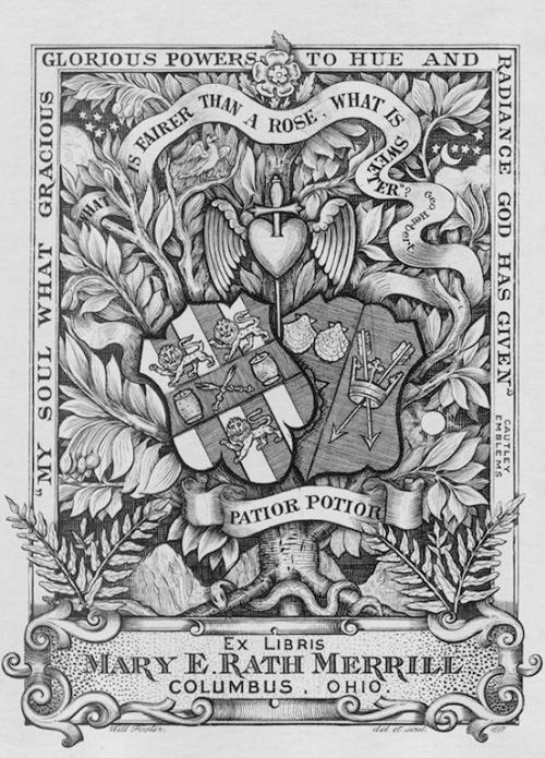Большая коллекция экслибрисов (549 работ)
