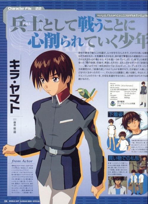 Gundam Seed Artbook (211 работ)