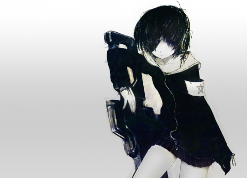 Huke - Black Rock Shooter Artworks (46 работ)