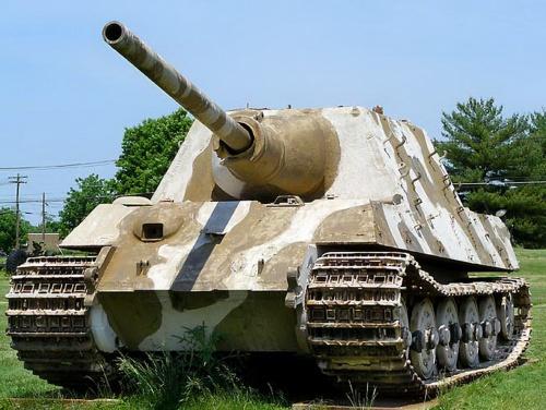 Немецкая САУ Jagdtiger (28 фото)