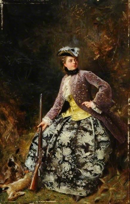 Французский художник Gustave Jean Jacquet (1846-1909) (140 работ)