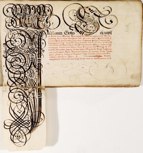 Каллиграфические наброски Иоганна Геринга (18 работ)
