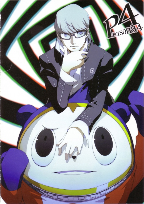 Persona 4 - Official Design Works (152 работ)