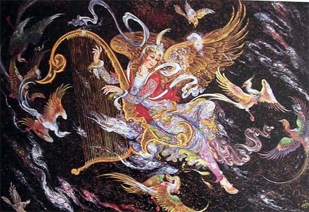 Художник и иллюстратор Ostad Mahmoud Farshchian (88 работ)