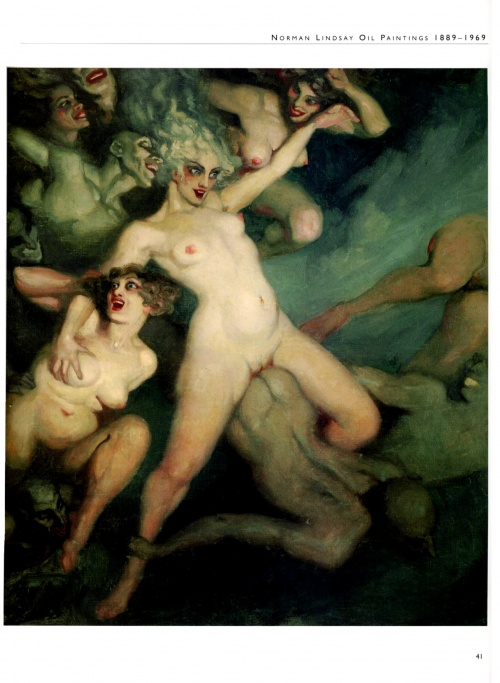 Норман Линдсей | XIX-XXe | Norman Lindsay (455 работ)