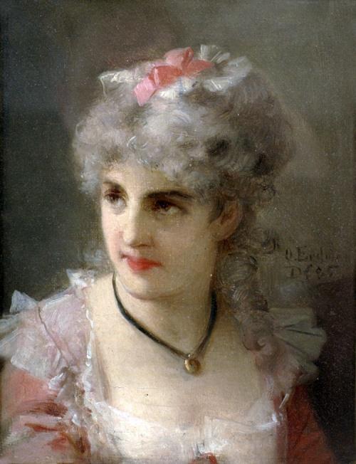 Немецкий художник Otto Erdmann (1834-1905) (34 работ)