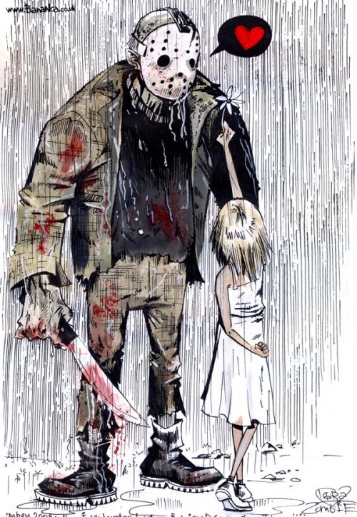 Lora Zombie. Гранж-арт (97 работ)
