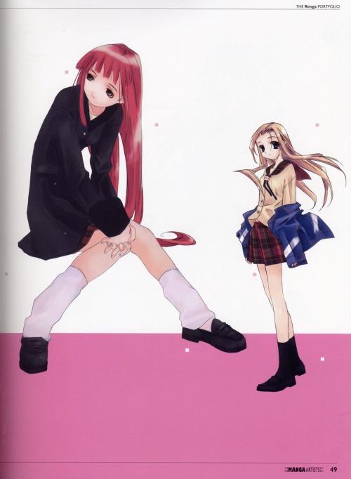 The New Generation of Manga Artist vol. 3 - The Renga Portfolio (92 работ)